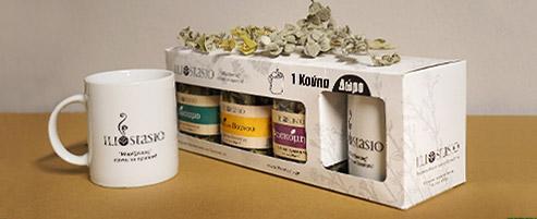 Συσκευασία δώρου με κούπα Iliostasio